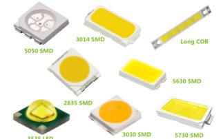 led chip size